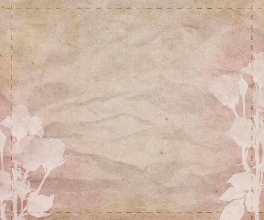 Beautiful Wedding Retro Background Texture
