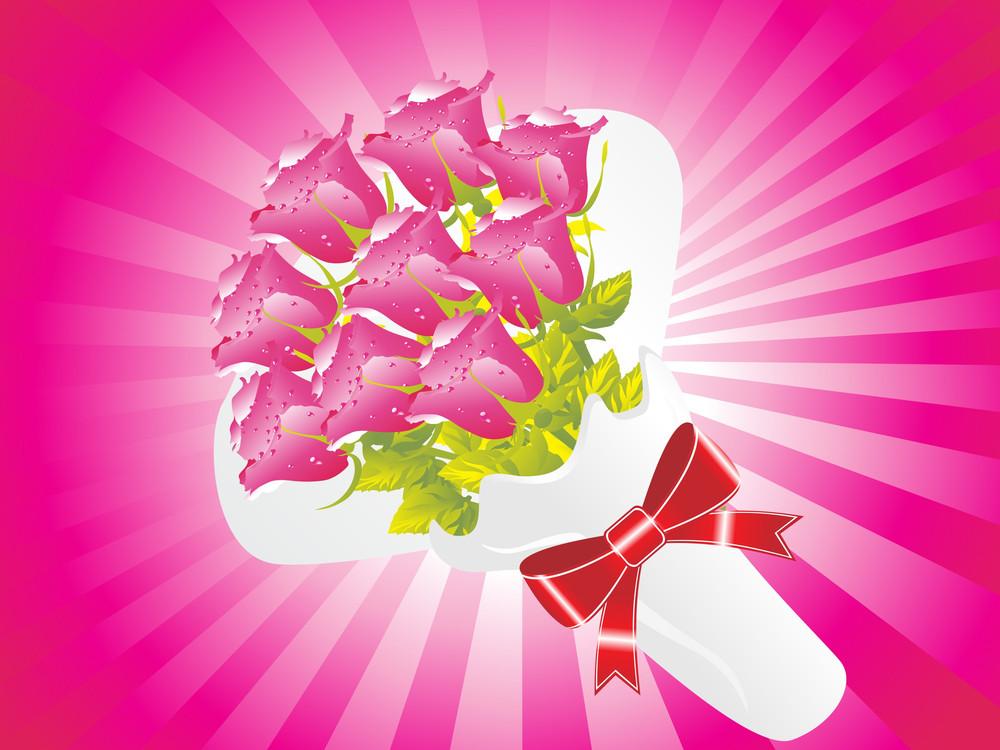 Beautifull Flower Bouque Series Design1