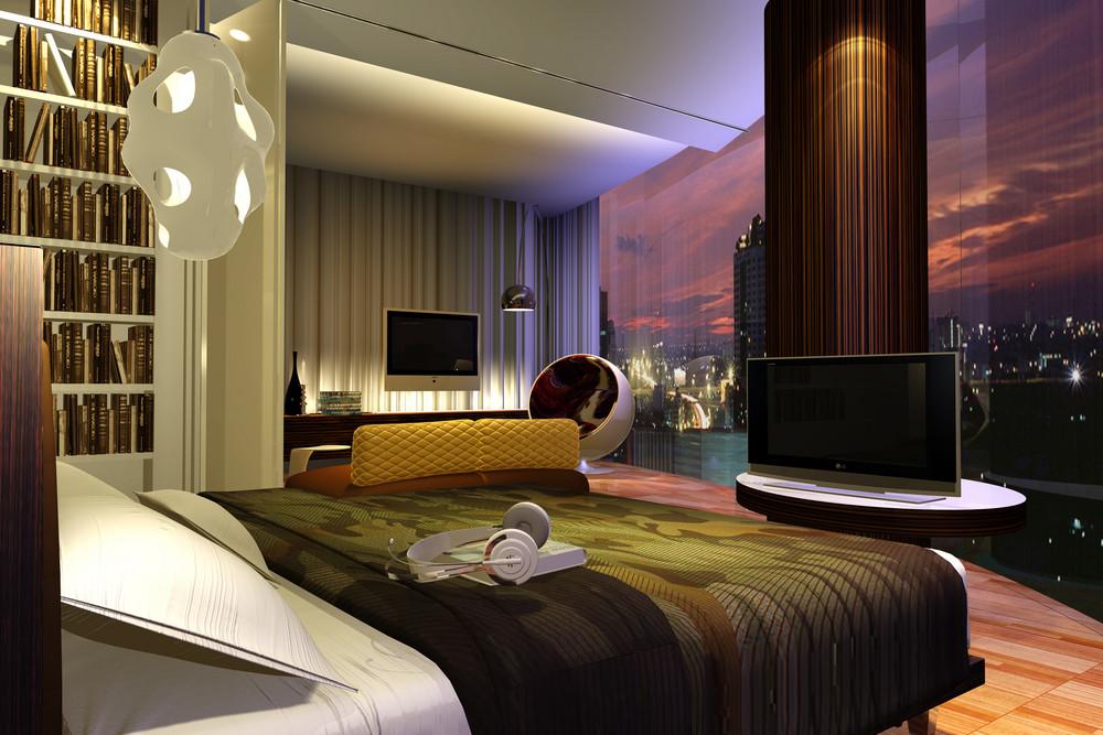 Bedroom, 3d Visualization