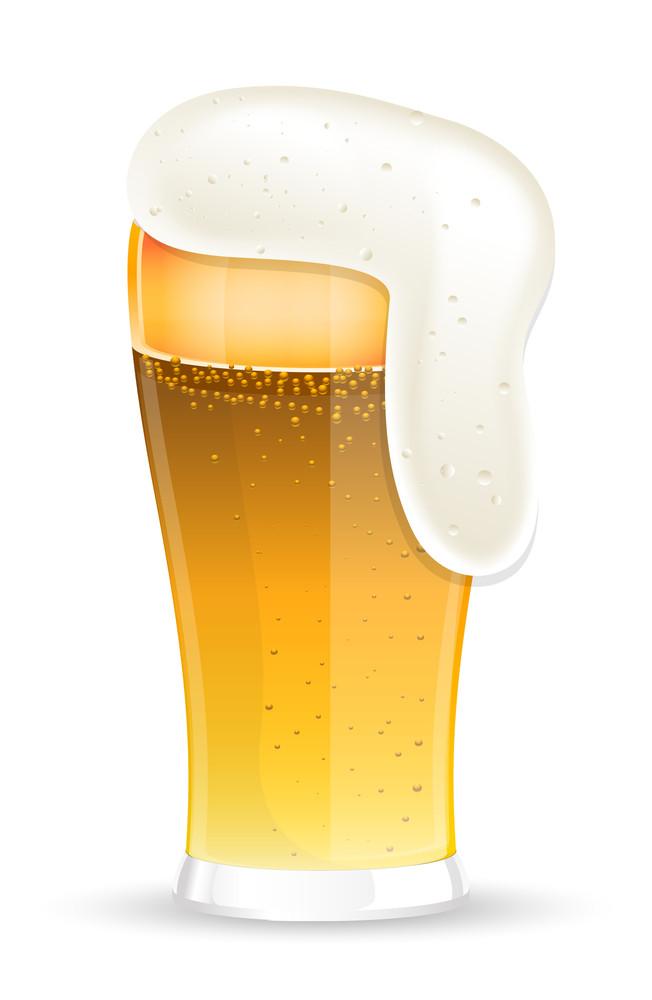 Beer Foam Glass
