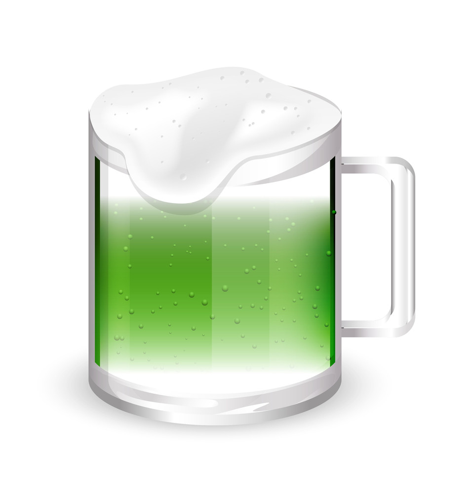 Beer Froth Glass