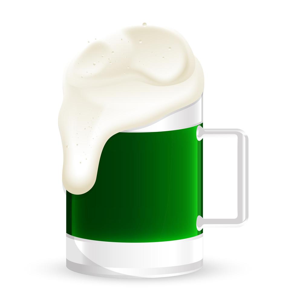 Beer Mug Froth Vector