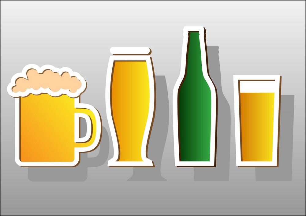 Beer Stickers.