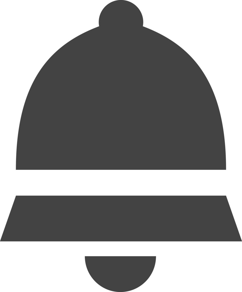 Bell Glyph Icon