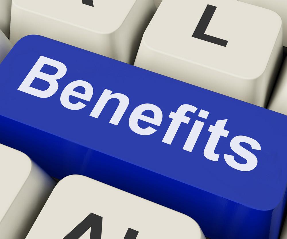 Benefits Key Means Advantage Or Reward