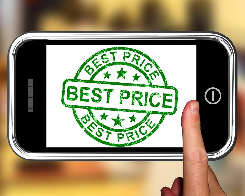 Best Price On Smartphone Showing Online Discounts