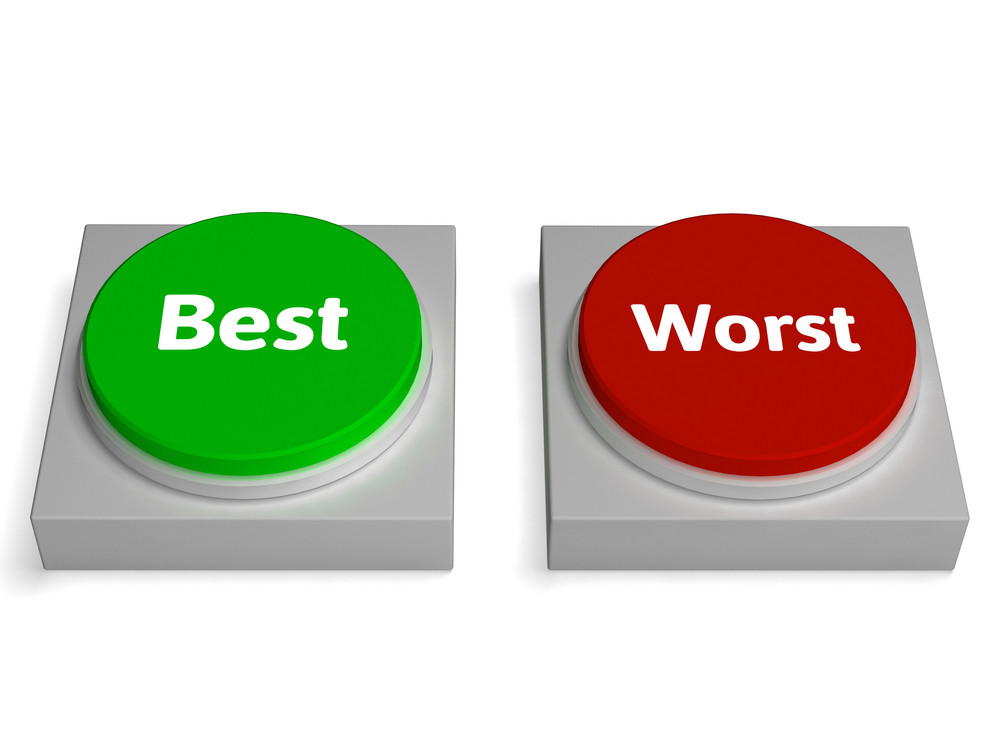 Best Worst Buttons Shows Champion Or Worse