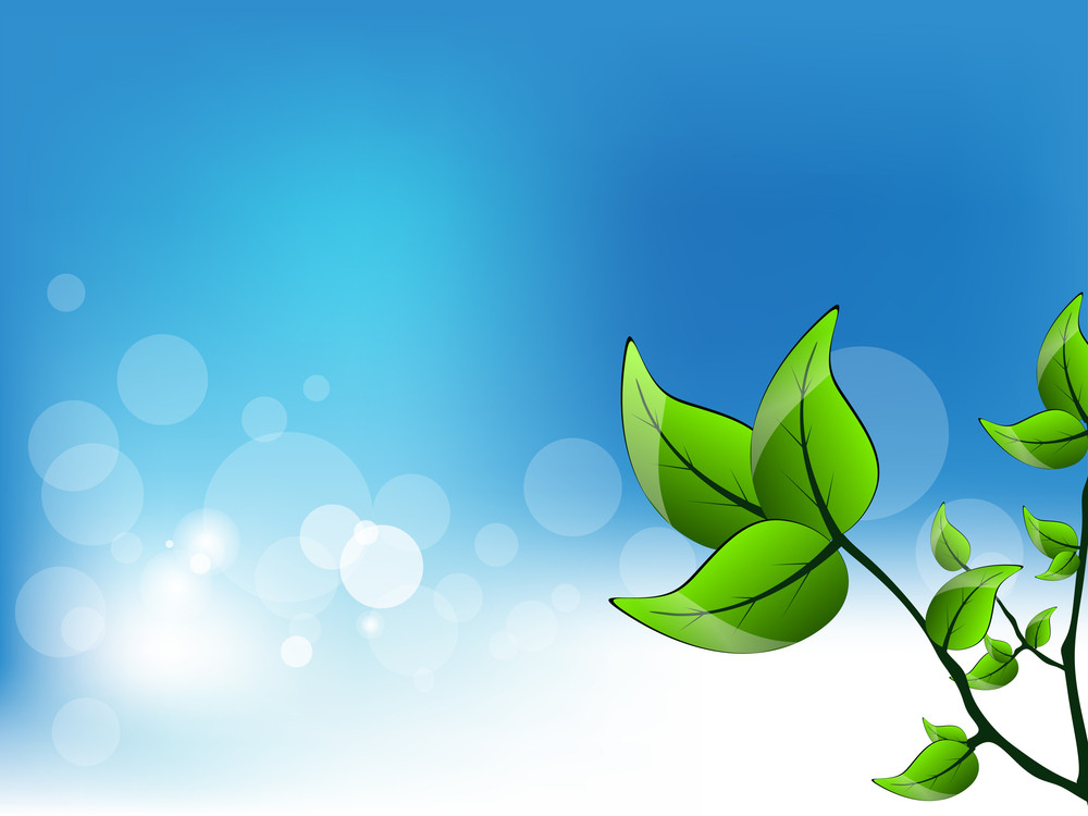 Beutiful Vector Nature Background.