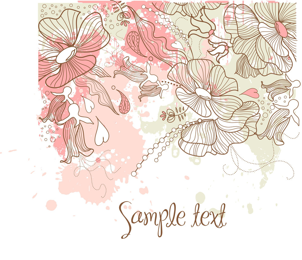Biautiful Floral Background