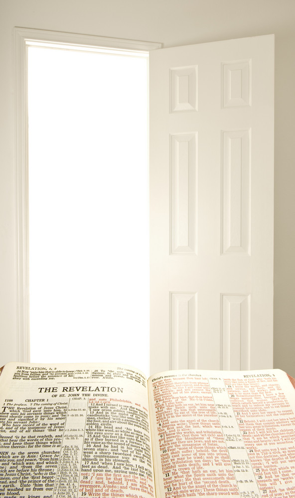 Bible and Open Door