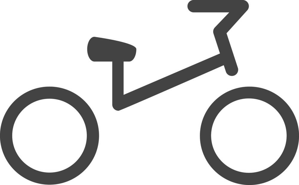 Bicycle Glyph Icon