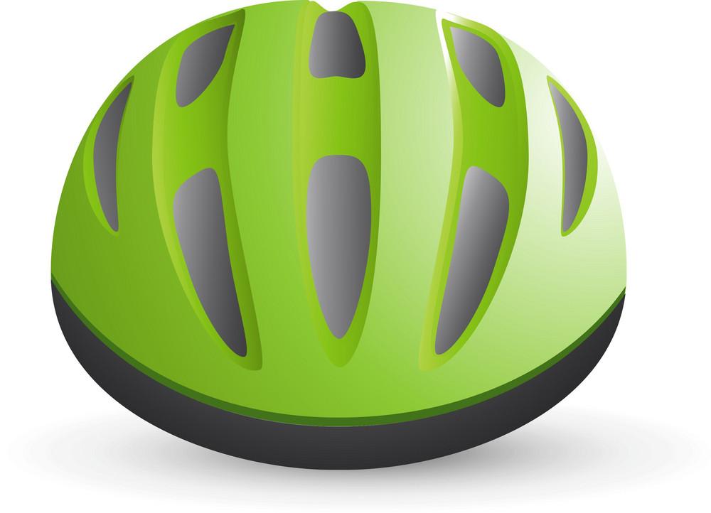 Bicycle Helmet Lite Sports Icon
