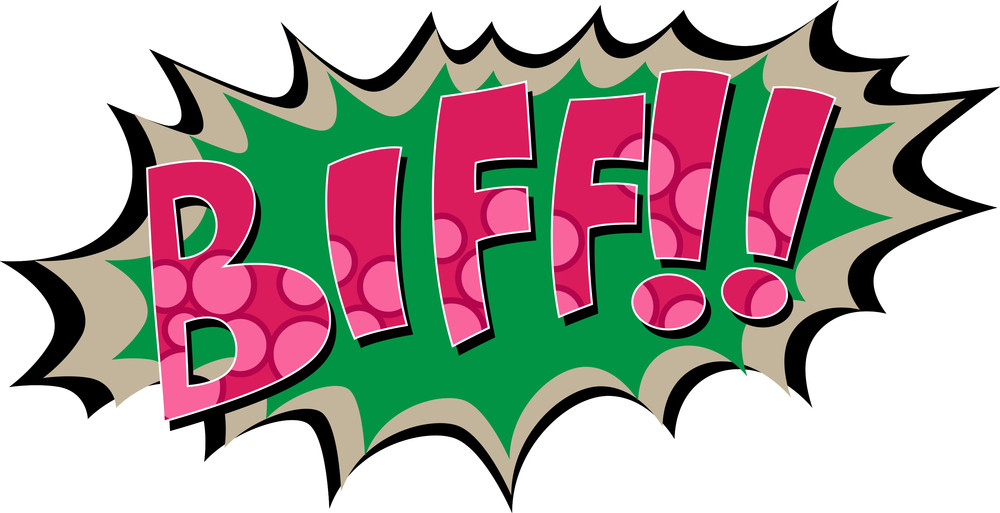 Biff - Comic Expression Vector Text