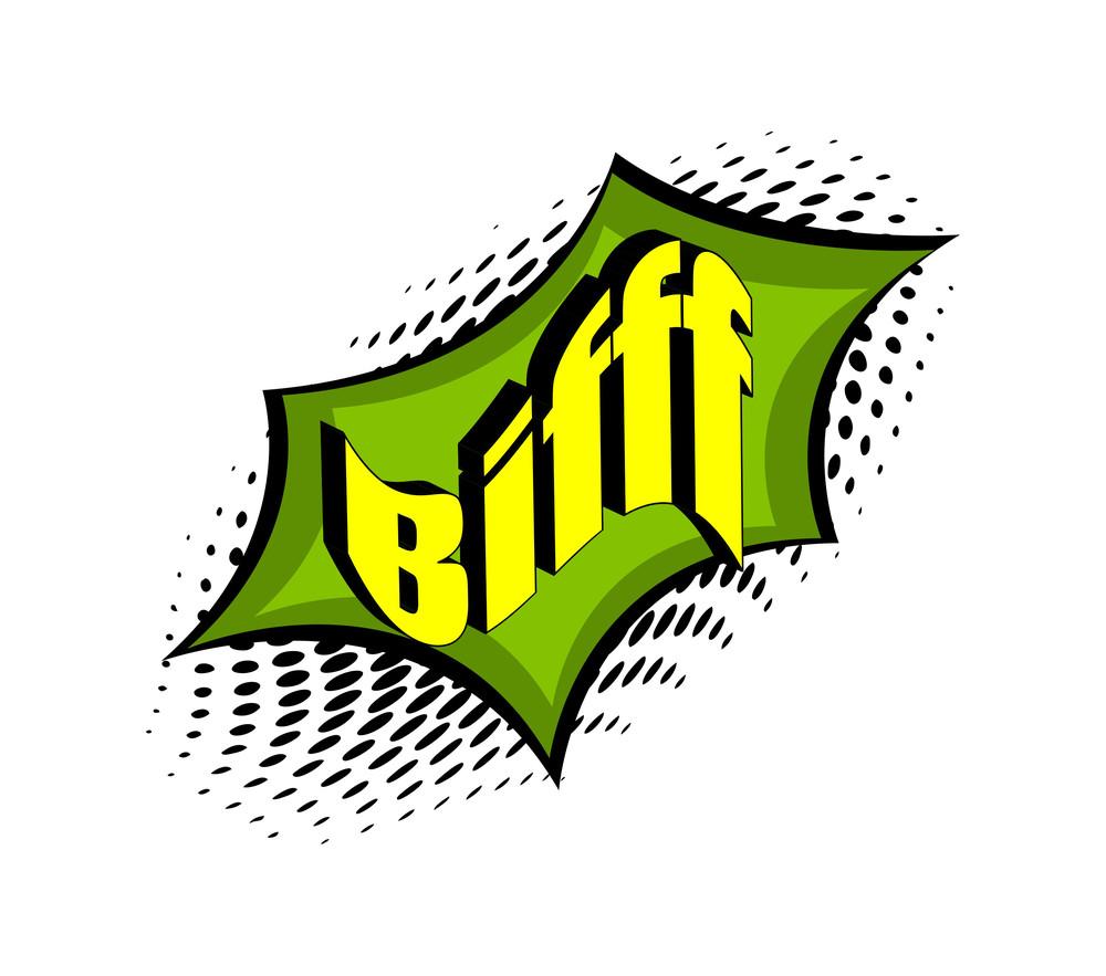 Bifft Retro Graphic Text Banner