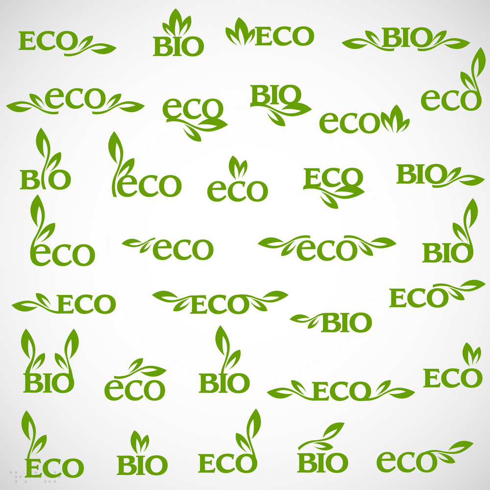 Big Collection Of Vector Eco-icons