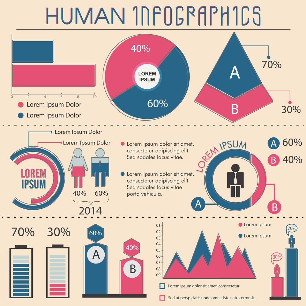 Lebanon Infographics Statistical Data Lebanon Information Stock ...