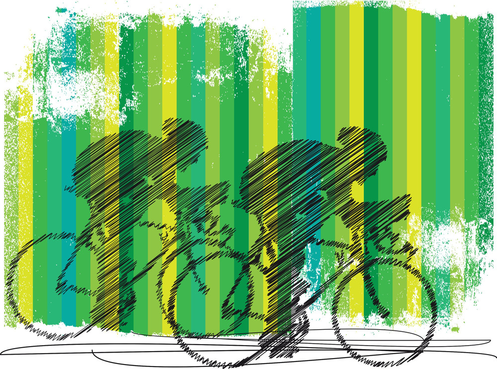 Bikers Illustration
