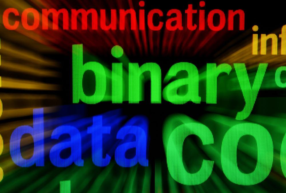 Binary Data Screen Concept