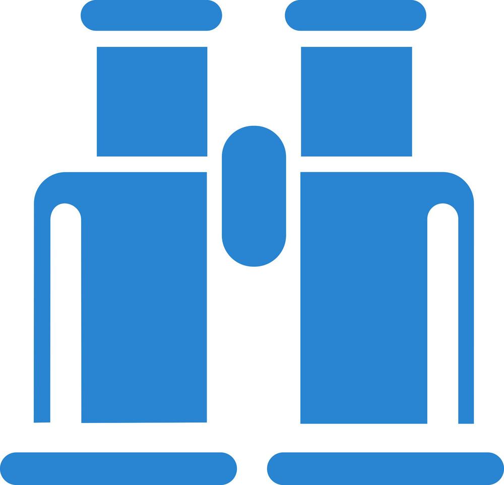 Binoculars Simplicity Icon