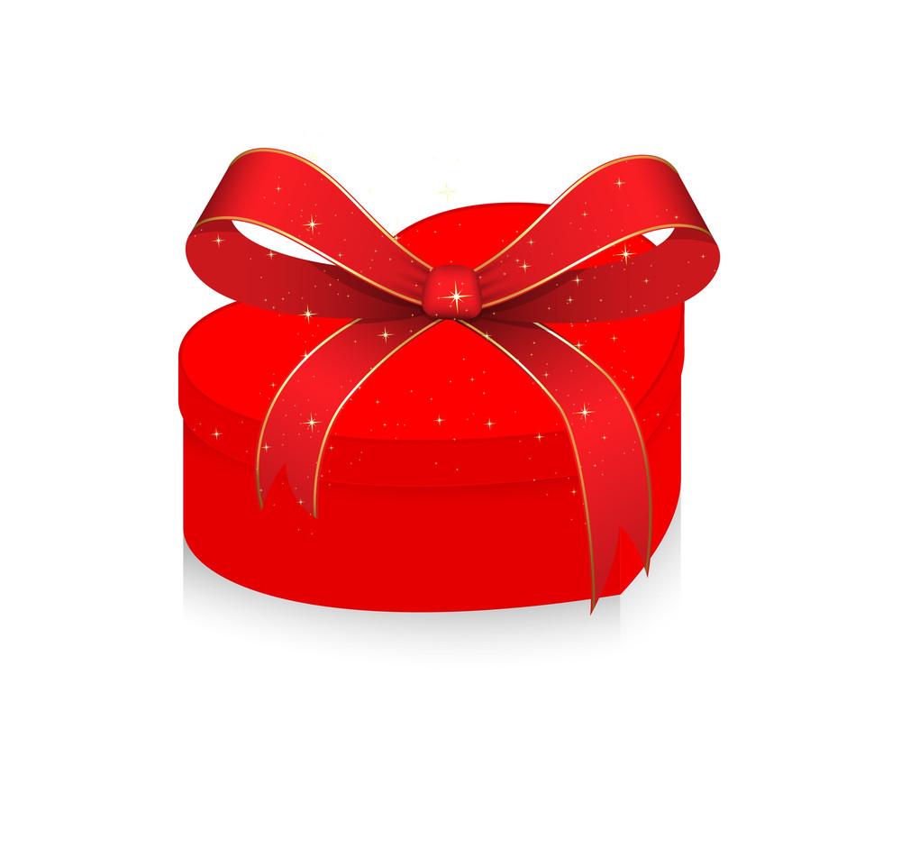 Birthday Gift Box Vector Illustration Royalty Free Stock Image