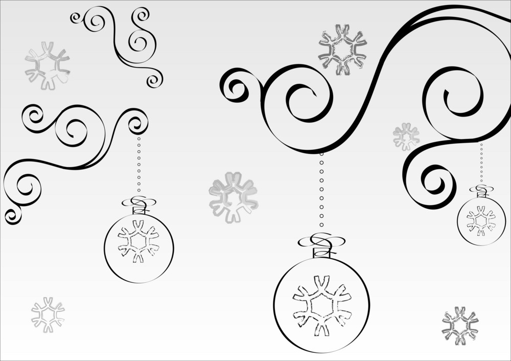 White Christmas Background.Black And White Christmas Background Royalty Free Stock