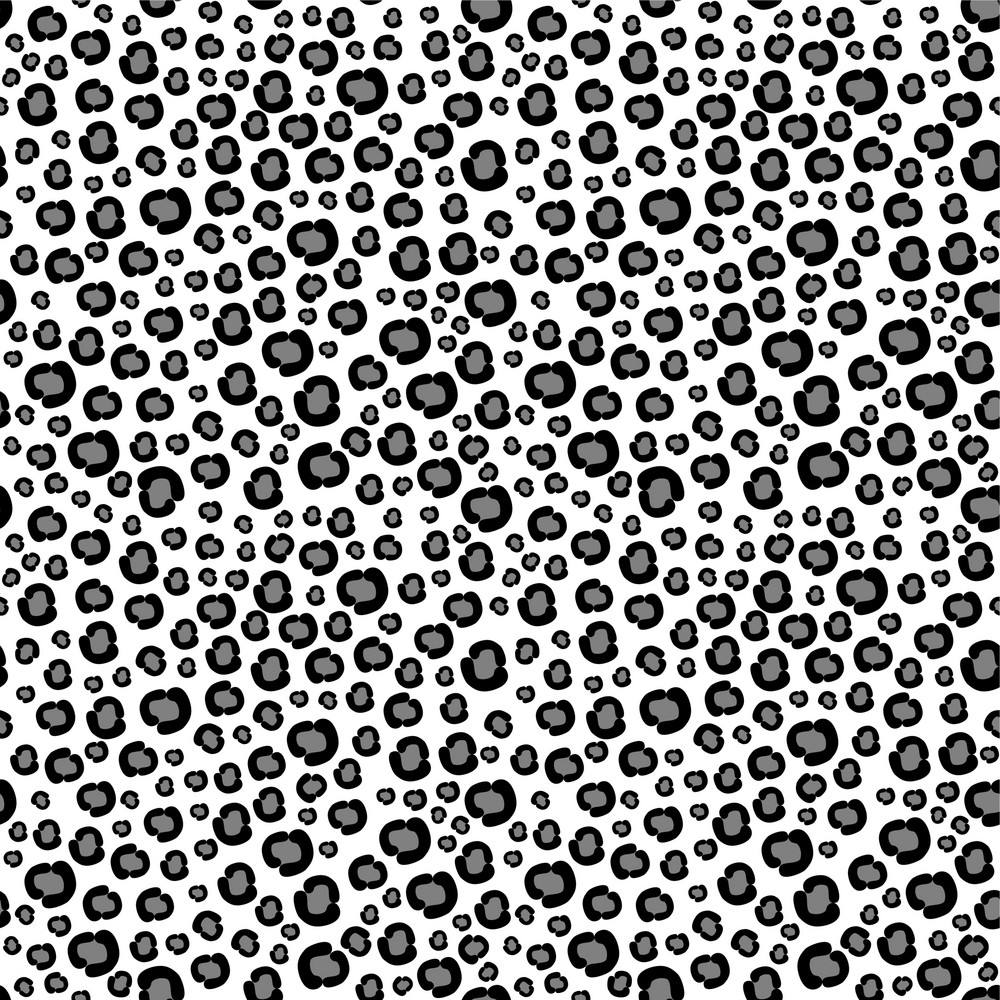 Black And White Safari Pattern