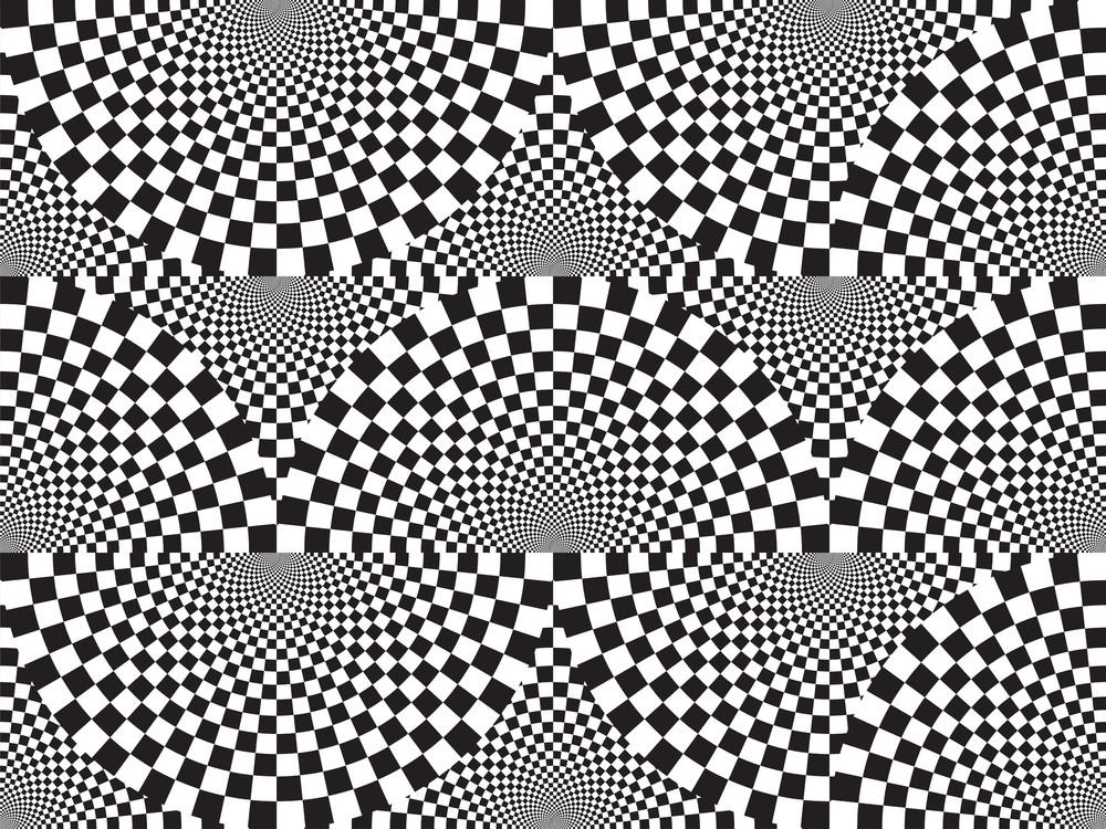 Black And White. Seamless Pattern.