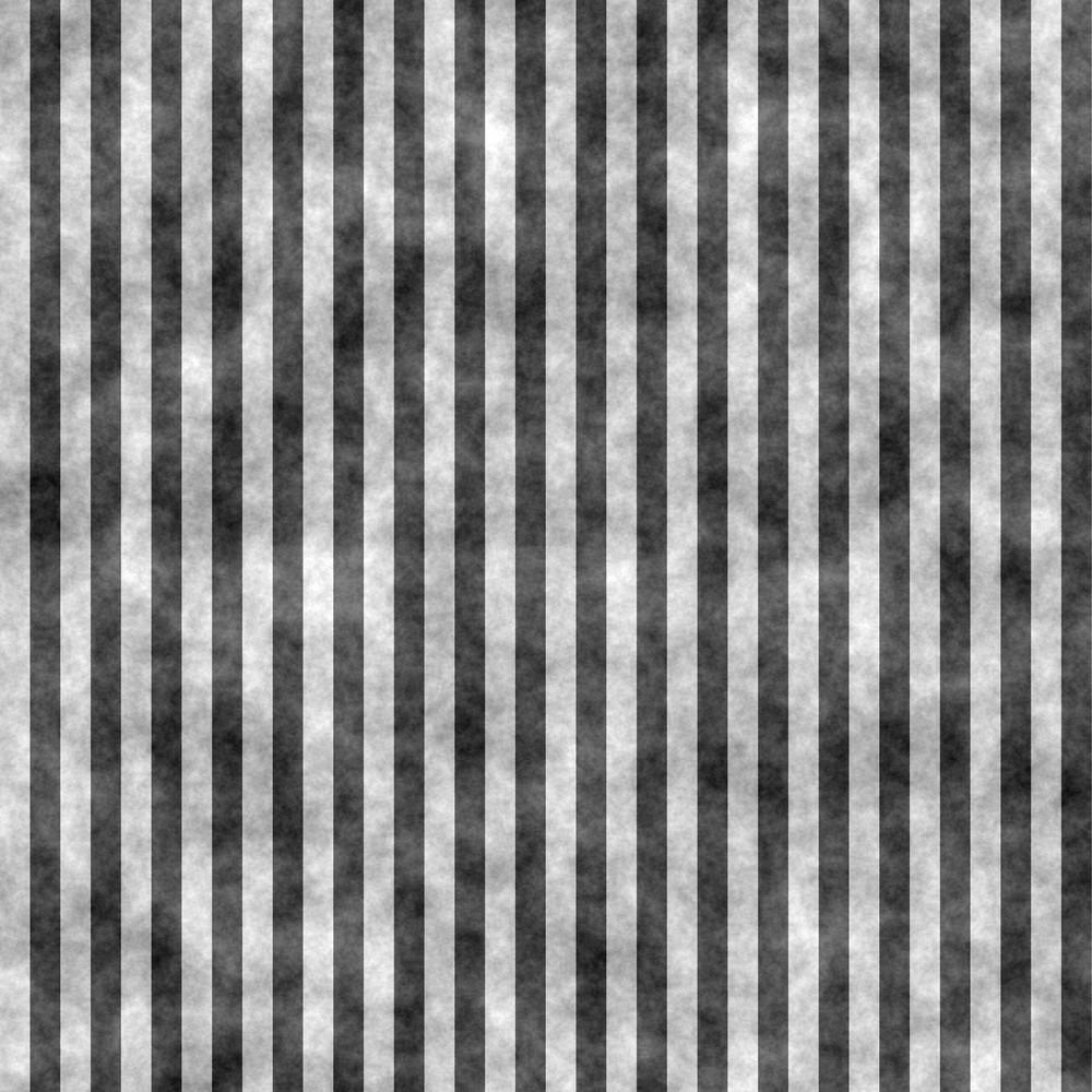 Black And White Striped Chalkboard Pattern