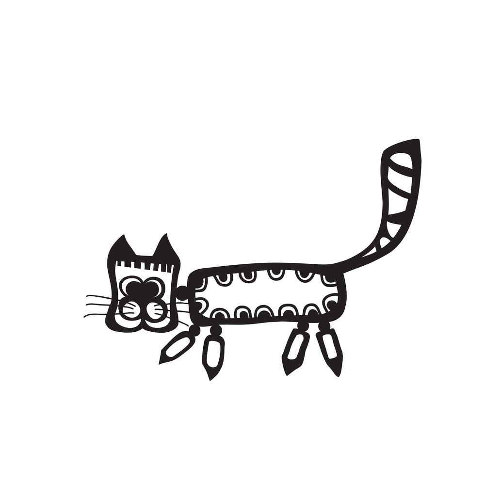Black Cat For Your Design