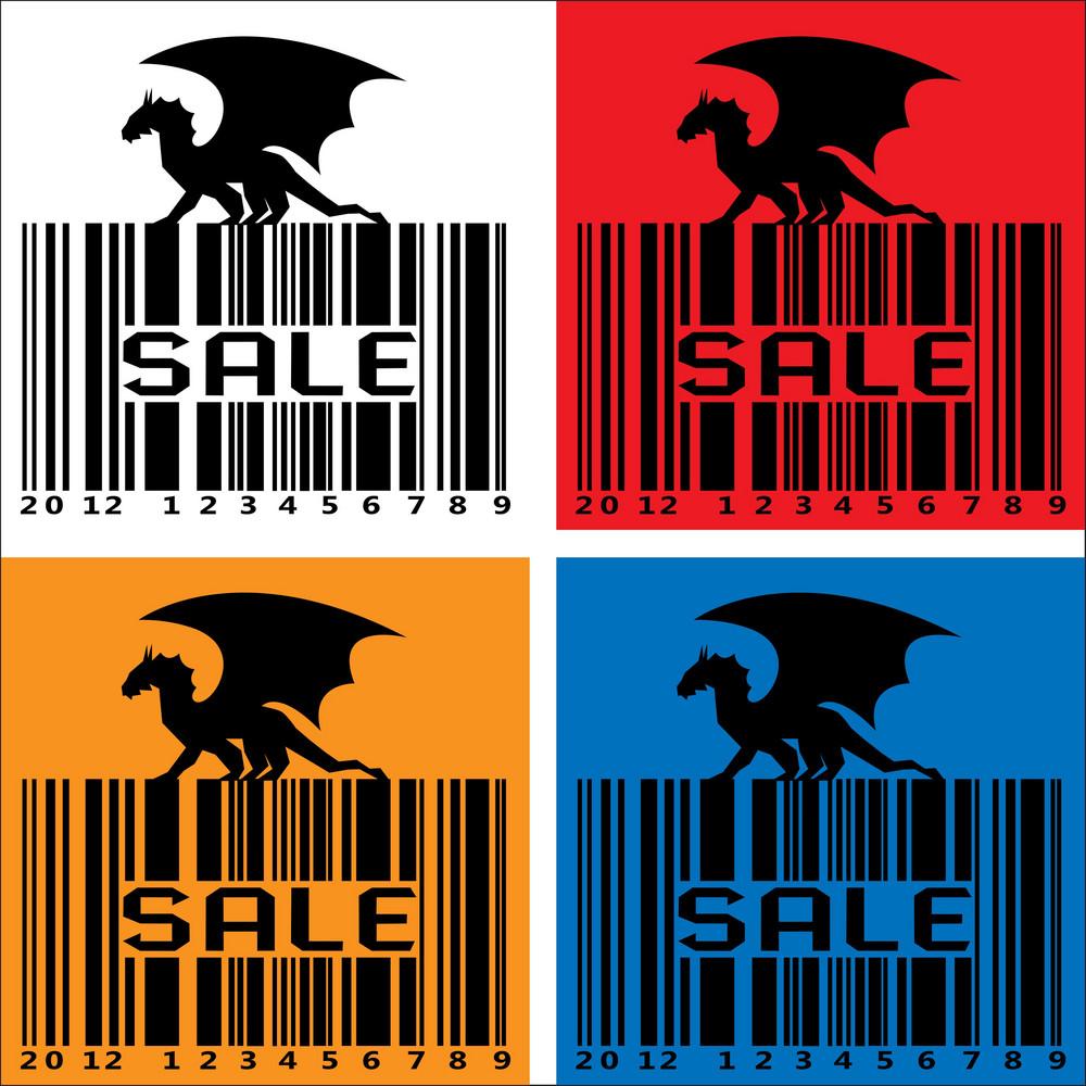 Black Dragon-barcode