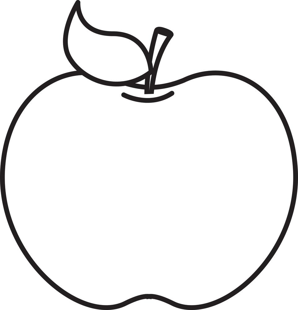 Black Frame Apple