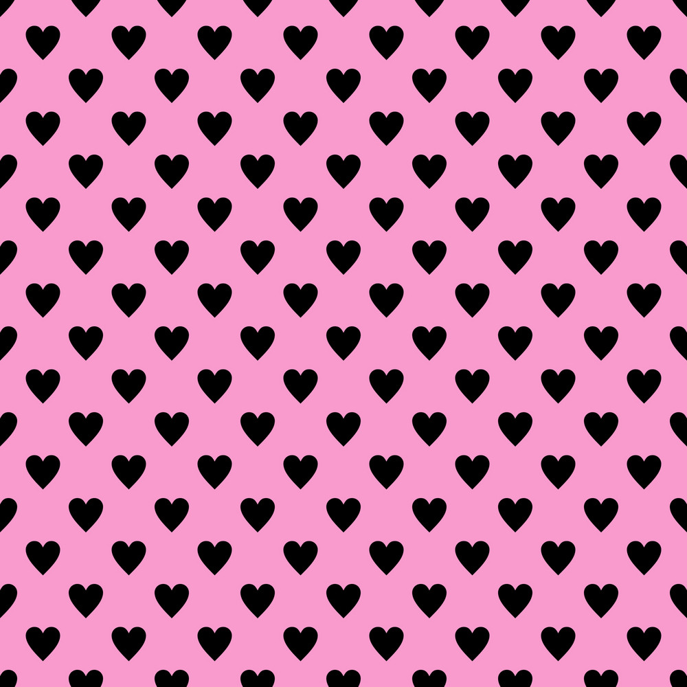 2019 year look- Black and pink hearts background photo