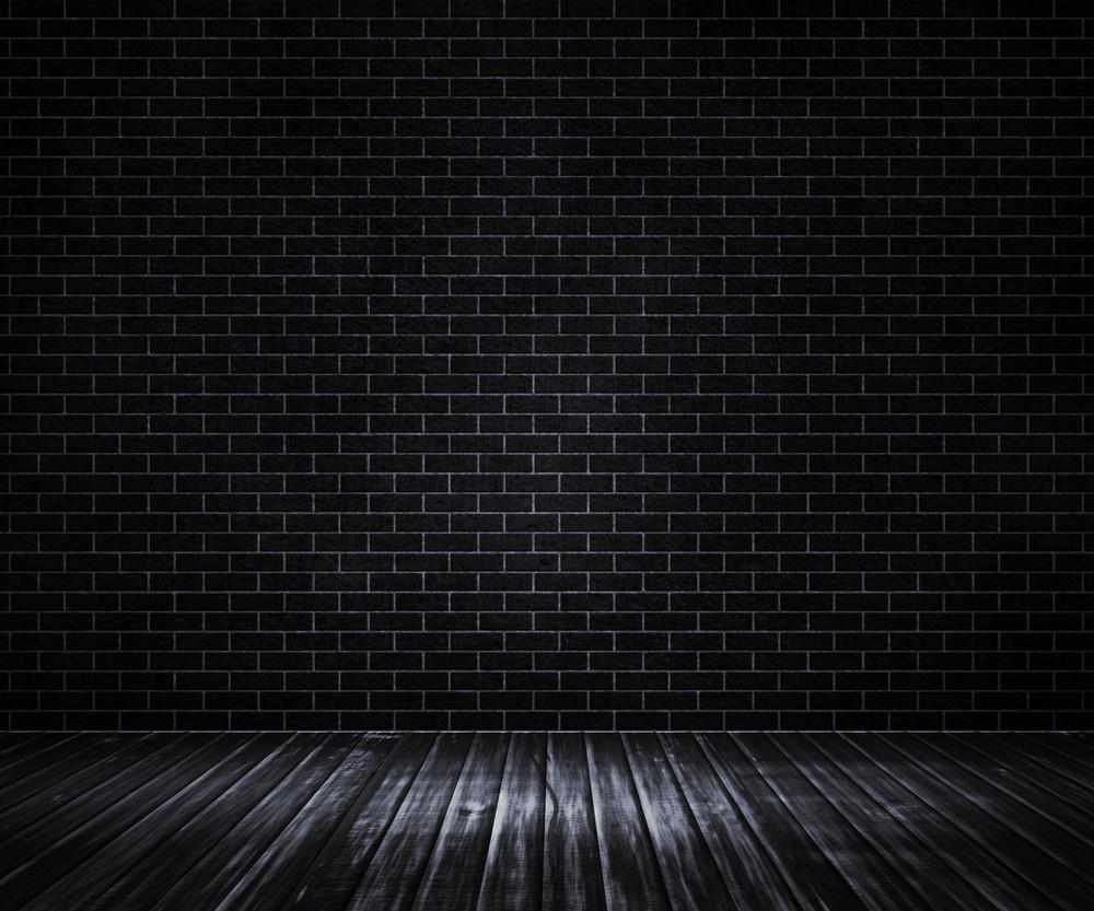 Black Interior Backdrop