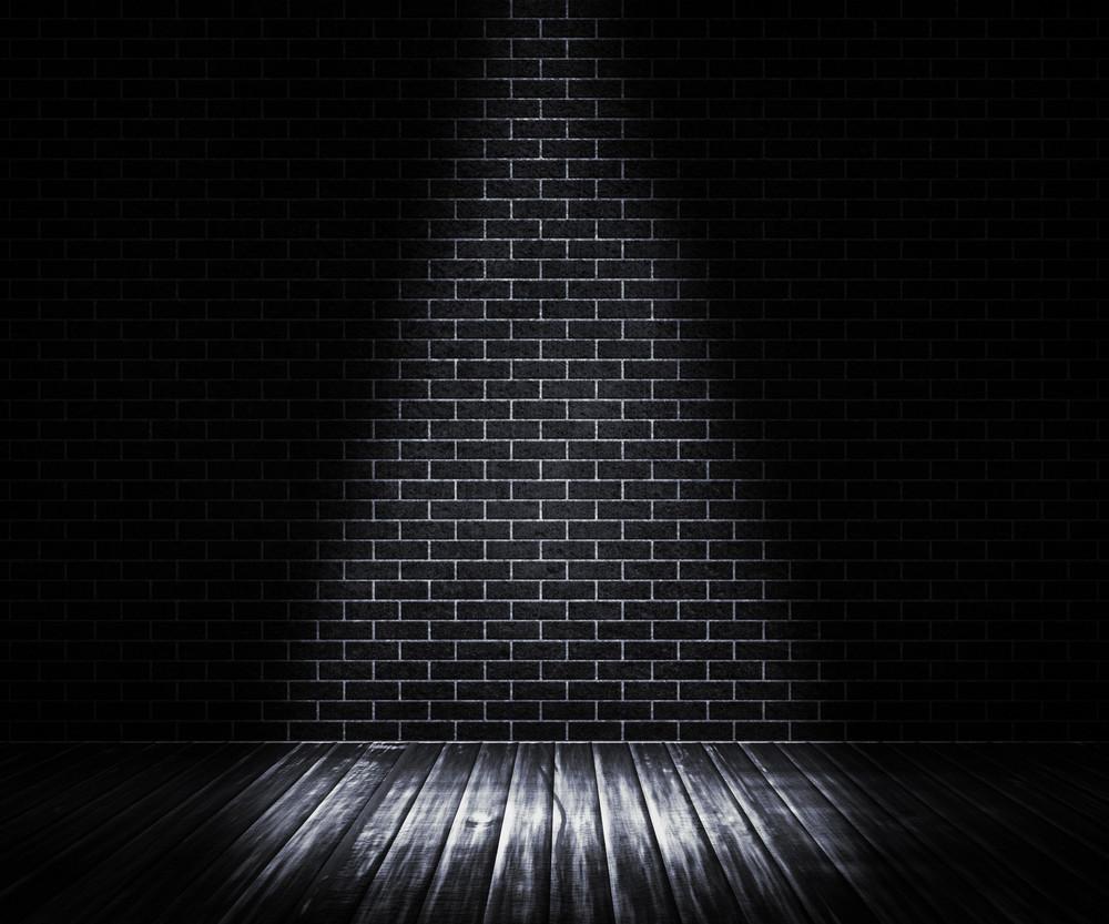 Black Interior Spotlight Backdrop