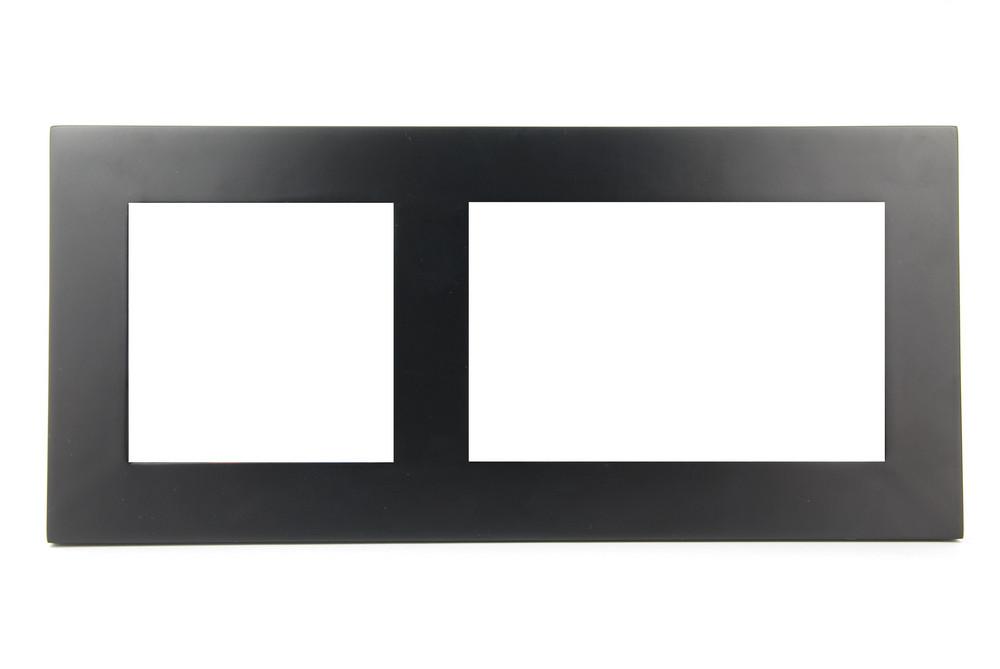 Black Photo-frame On White