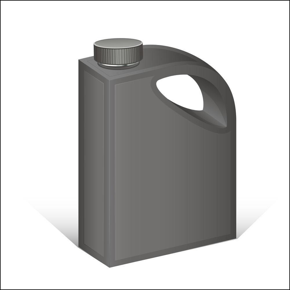 Black Plastic Cane