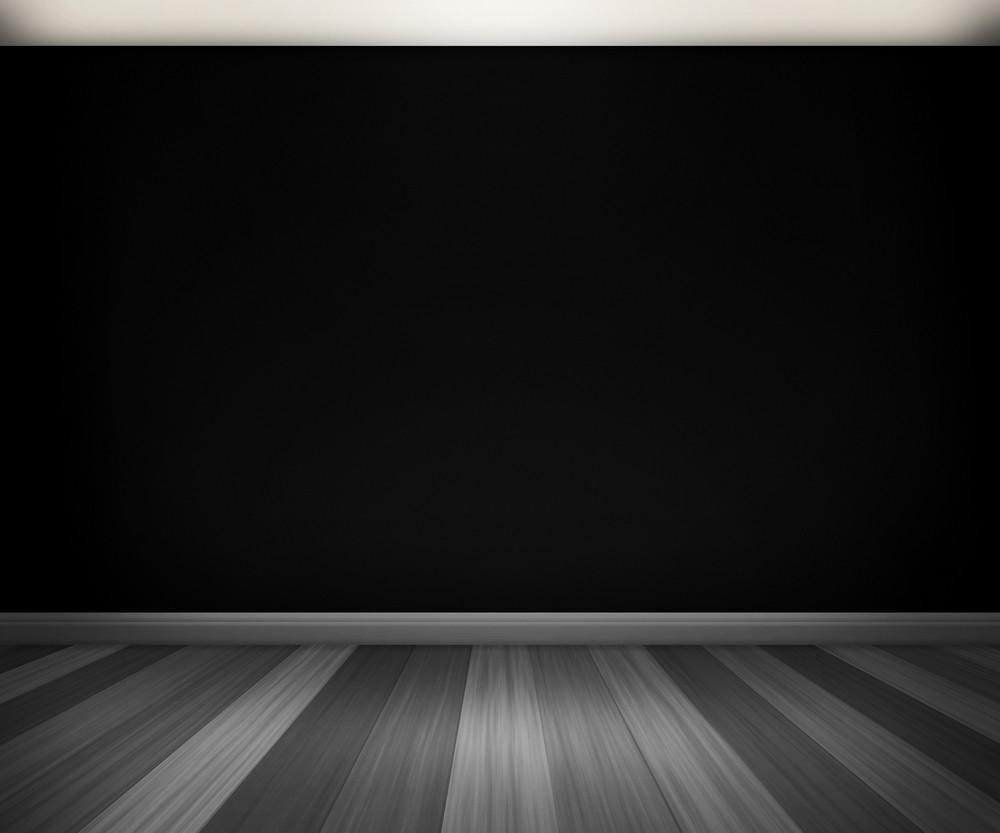 Black Room Background