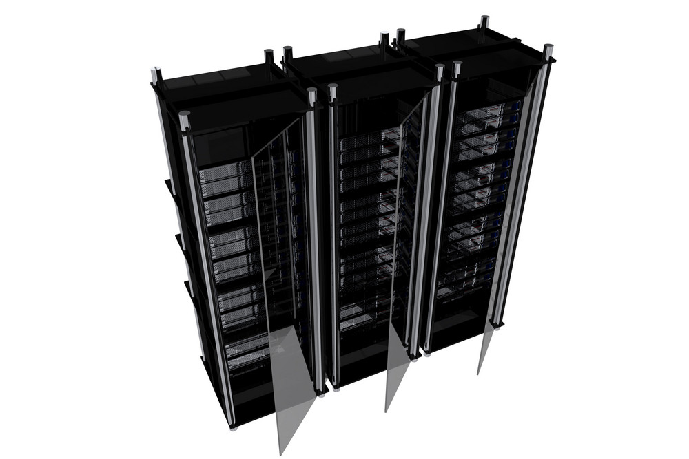 Black Server Racks