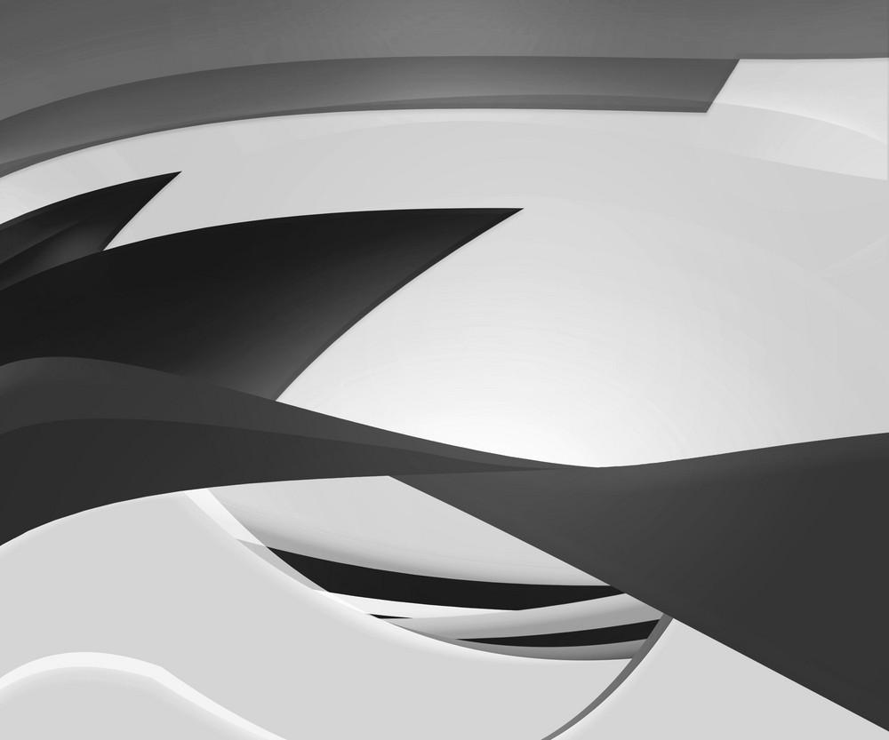 Black Shapes Background
