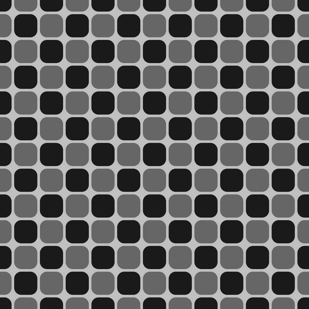 Black, White, And Grey Square Pattern