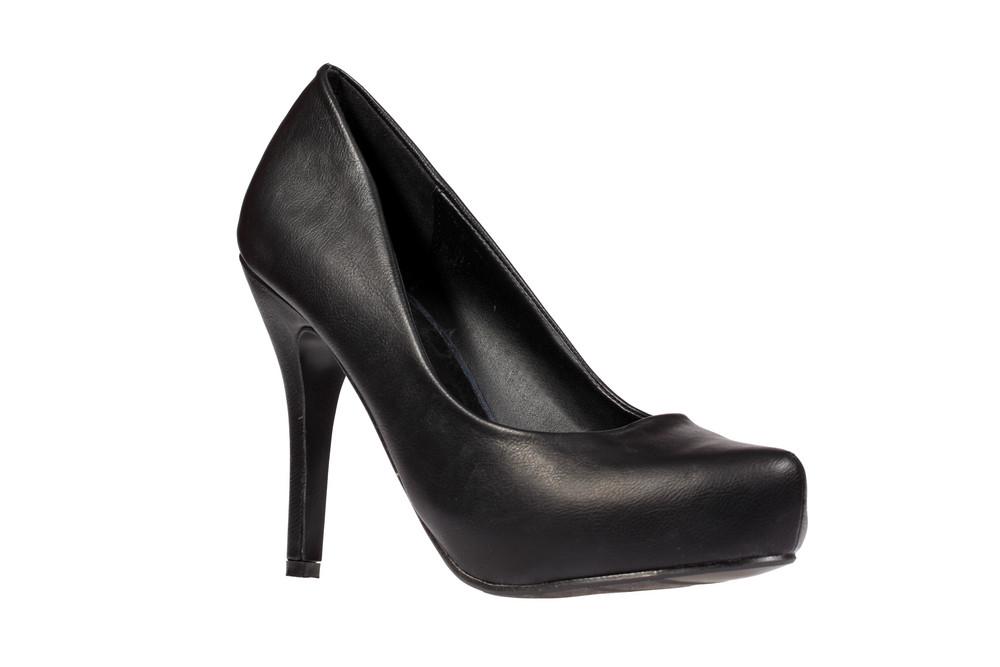 Black Women's Heel Shoe