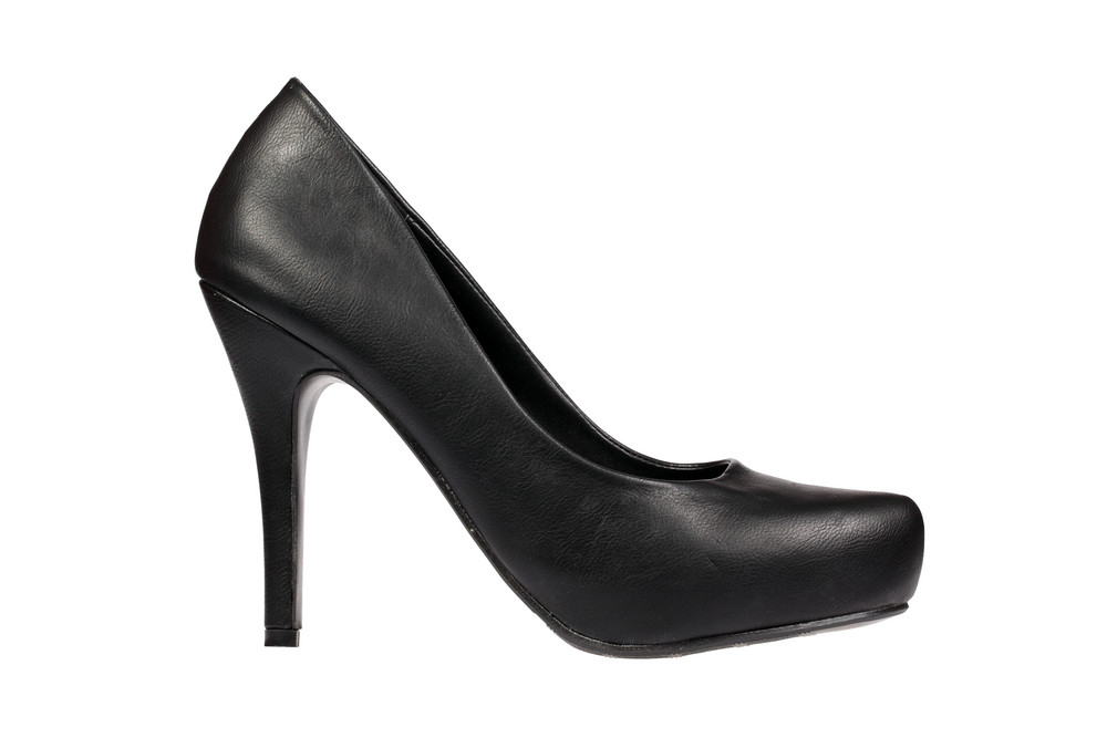 Black Women's Heel Shoe