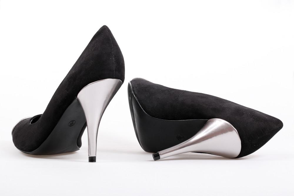 Black Women's Heel Shoes