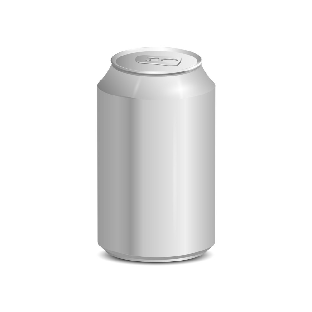 Blank Aluminum Can