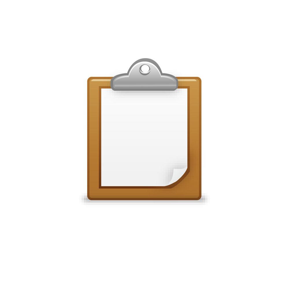 Blank Clipboard Lite Plus Icon