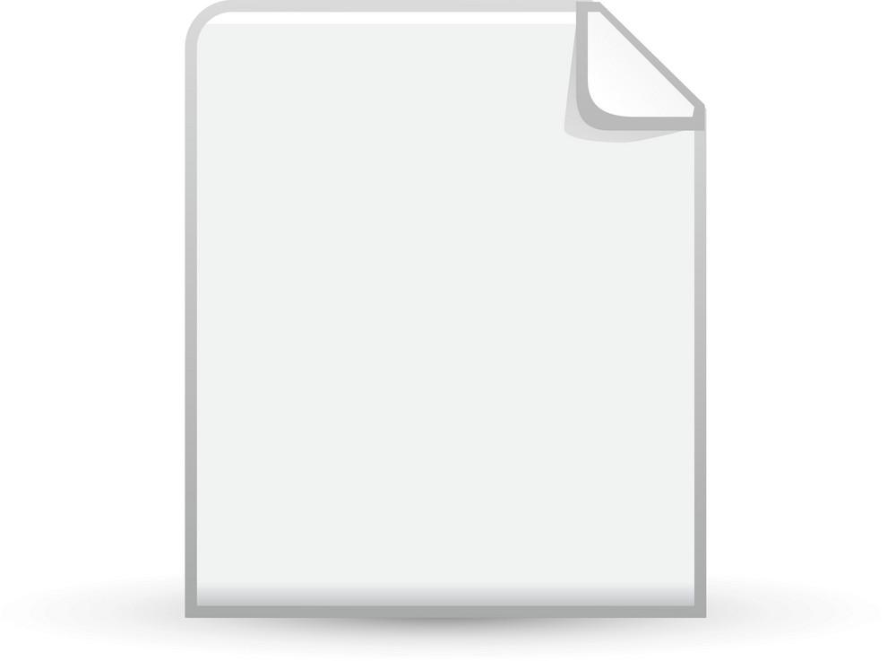Blank Document Lite Application Icon