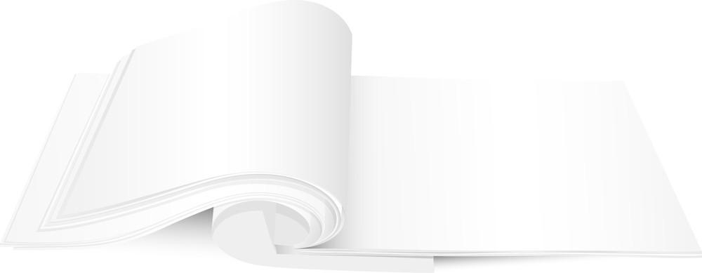 Blank Notebook Vector