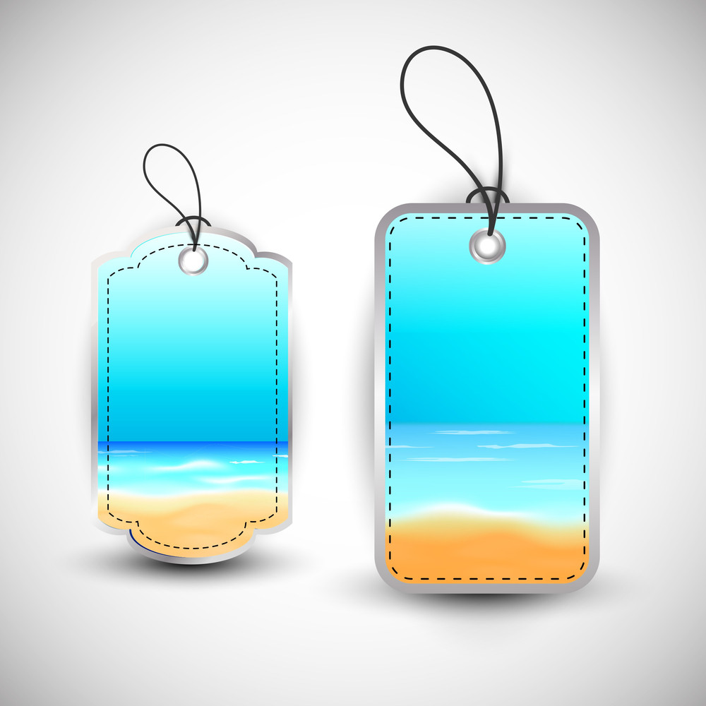 Blank Water Tags