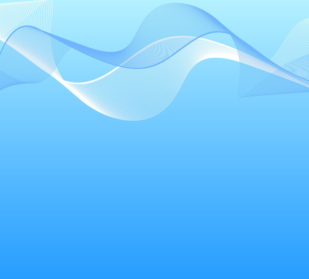Blend Wavy Lines Background