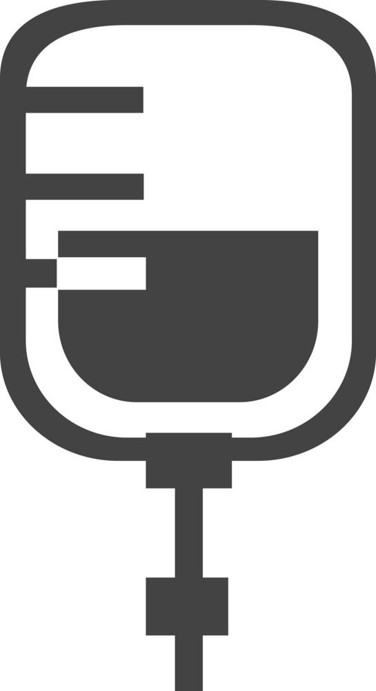 Blood Donation Glyph Icon
